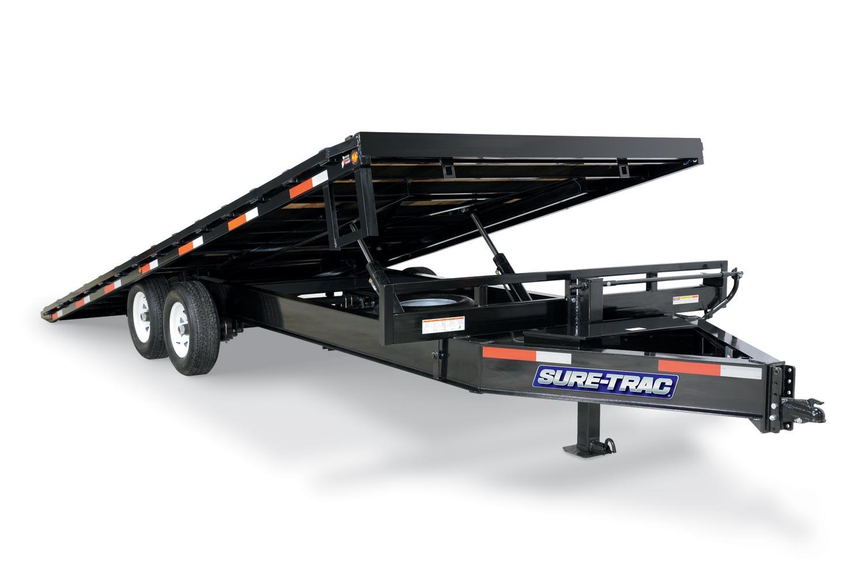 2020 Sure-Trac 102x22 Deckover Tilt Tandem BP 15K