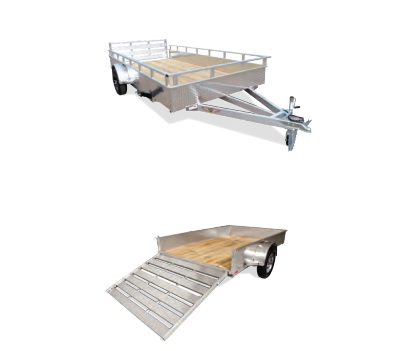 2019 H and H Trailer 8(76)X12 SOLIDSIDE ALUM 3K