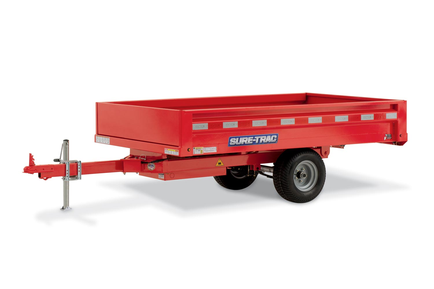 2018 Sure-Trac 4.5 x 8ft Utility Dump Trailer