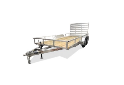 "2020 H and H Trailer 6'8"" X 14' Tanden Aluminum Landscape Trailer"