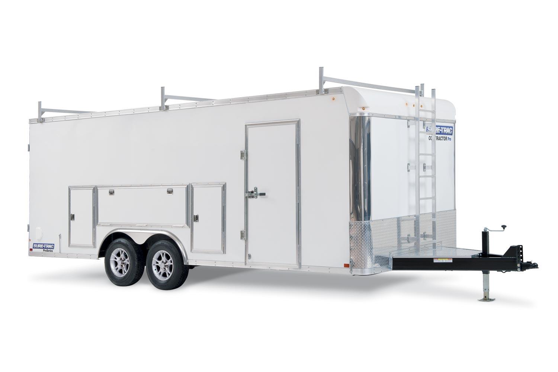 Sure-Trac 8.5 x 18 14K Contractor Pro Bullnose Cargo