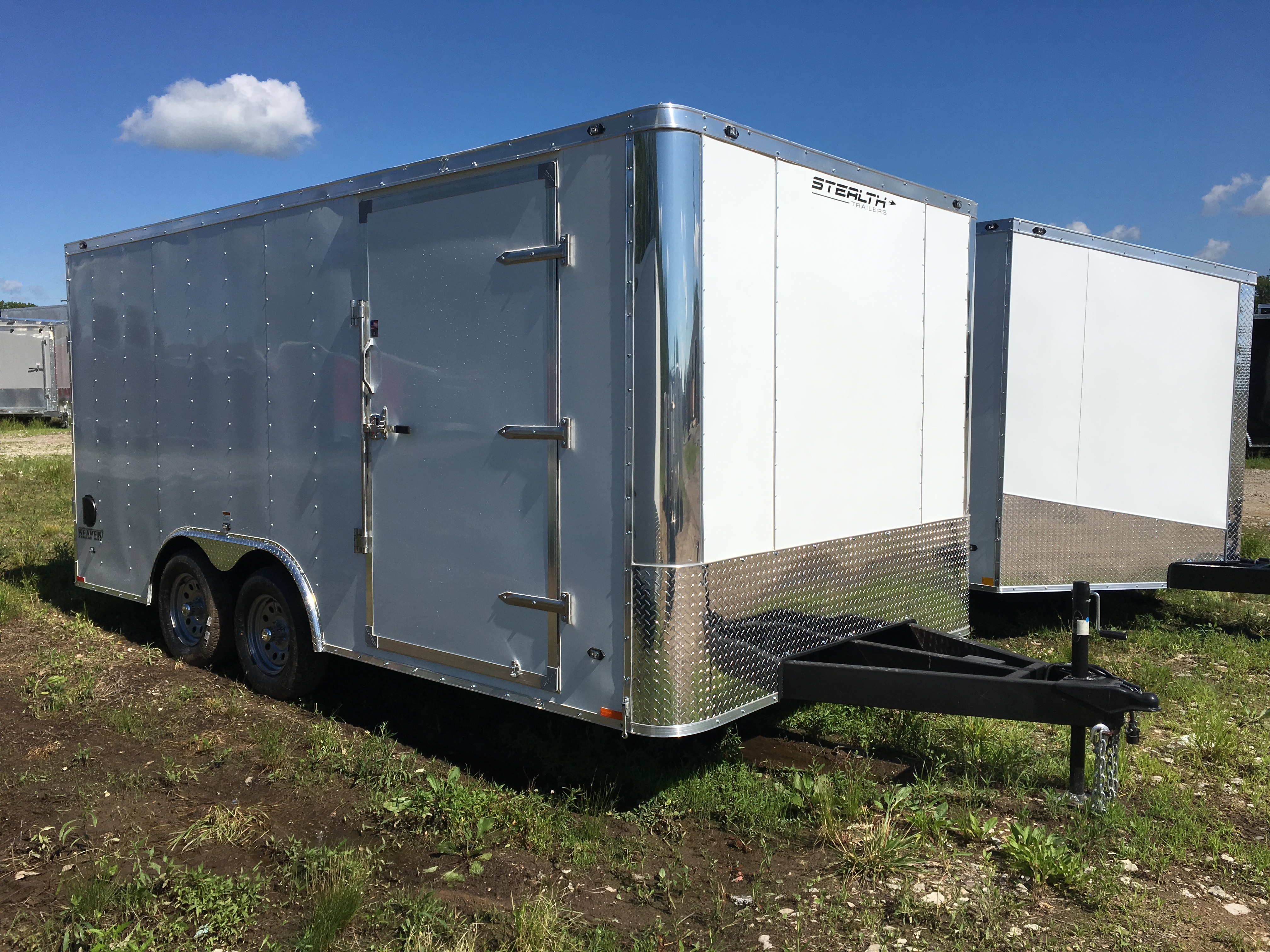 Stealth Trailers SCHE8518TA2 (Flat Top / Flat Front)