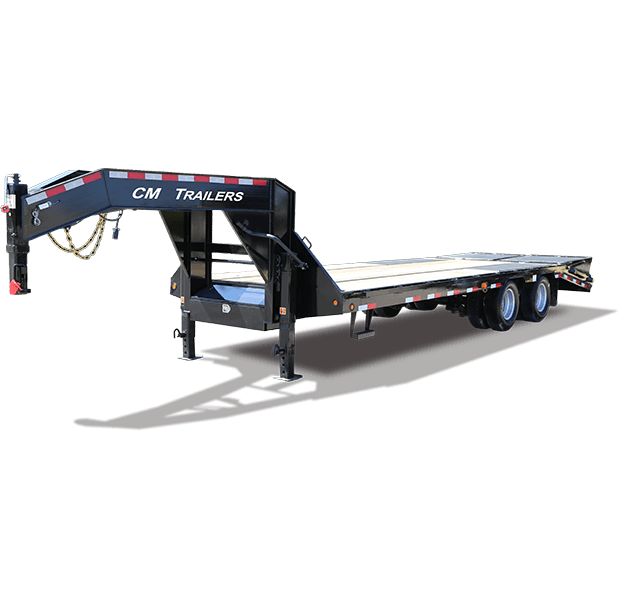 "CM Trailers Load Boss 102"" x 36' Tandem Dual 23,900# Gooseneck (Straight)"