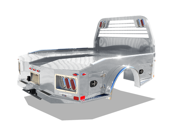 Aluminum AL ER Truck Bed | Silver Moon Trailers | Flatbed ... on ford wiring, cm truck beds in texas, cm flat beds for pickup trucks,