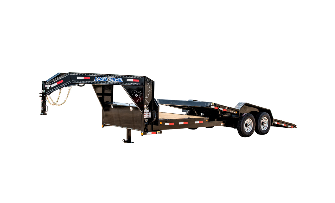 "2019 Load Trail 83"" X 22' Tilt-n-go Gooseneck Tandem Axle Equipment Trailer"
