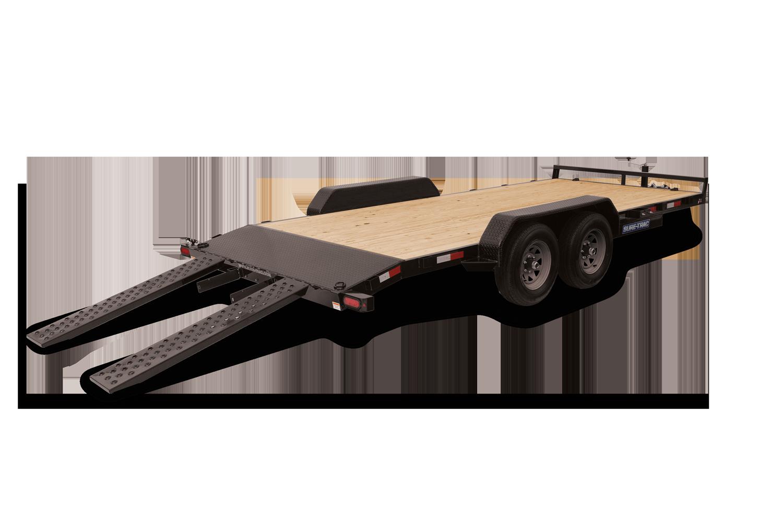 Sure-Trac 7 x 22 C-Channel Car Hauler Trailer (ST8222CHW-B-070)