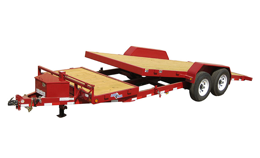 "2018 Load Trail 81.5"" X 16' Tandem Axle Tilt Deck Equipment Trailer"