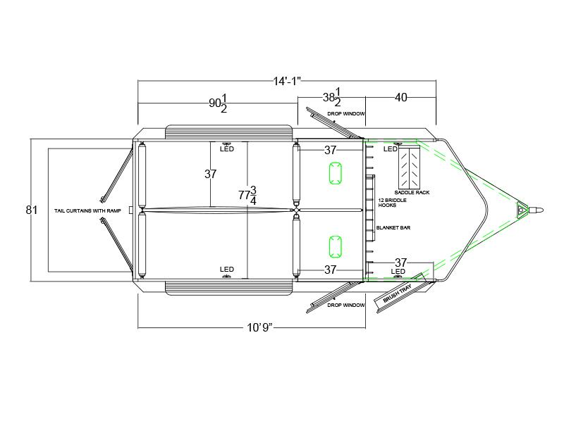 logan coach horse trailer wiring diagram: warmblood (bp) warmblood 2-horse  bp