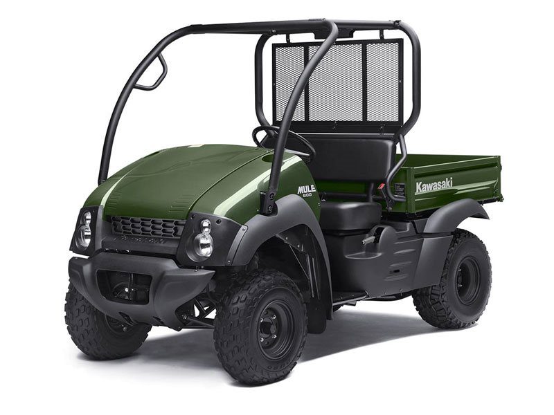 kawasaki mule 600 timberline green | power sports international