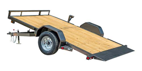 MAXXD G4X - Single Axle Gravity Quick Tilt Utility Trailer