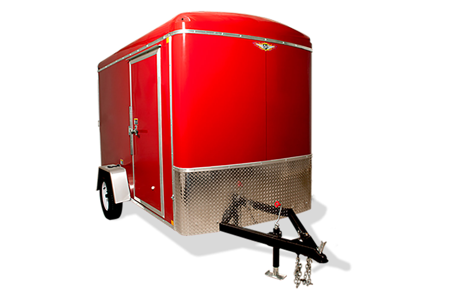 2020 H and H Trailer 6X14 SINGLE RND TOP HH R-NOSE 3.5K CARGO