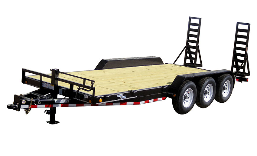 "2018 Load Trail 80"" X 24' Triple Axle Carhauler Car / Racing Trailer"