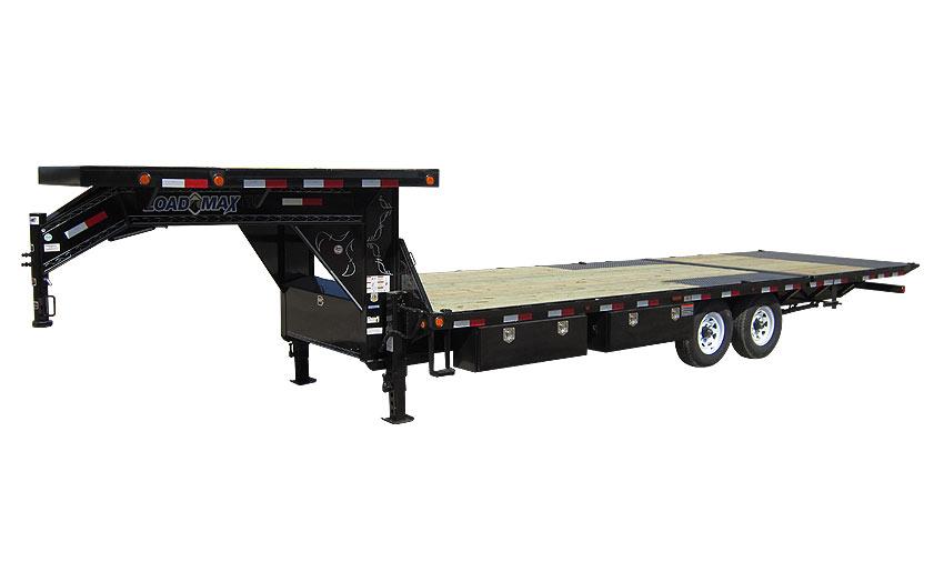 """2016 Load Trail 102"""" x 34' Heavy Duty Gooseneck 2-8000 lb Axles W/Hyd. Dove"""