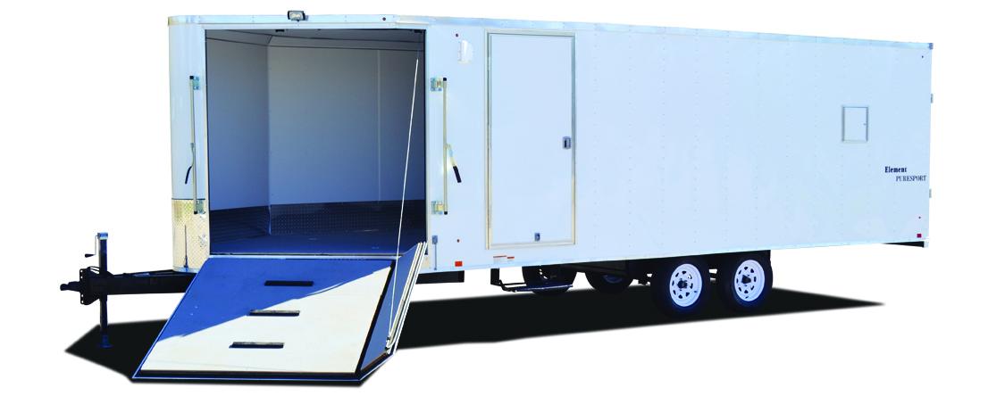 2021 Formula Trailers Triumph Cargo Standard 8.5x16 Tand Elec 3500# Cargo / Enclosed Trailer