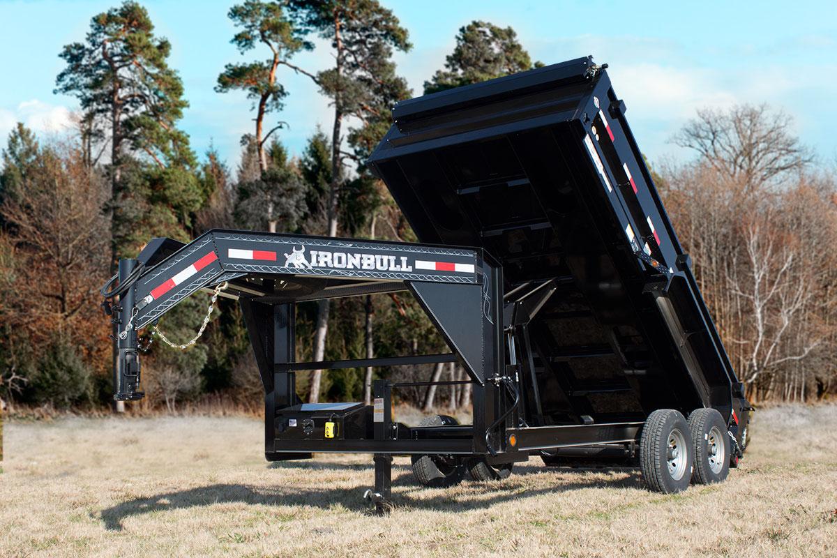 Iron Bull GD14 - 14,000lb GVWR Gooseneck