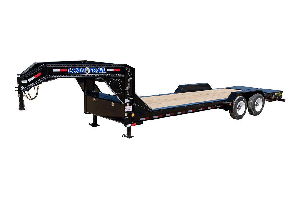 """Load Trail EG20 - 20000 Lb Gooseneck Tandem Equipment Hauler w/10"""" 19 Lb I-Beam Frame"""