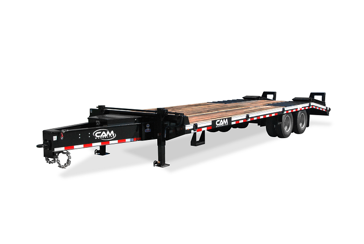 Cam Superline 12CAM825TE Heavy Duty Deckover Construction Trailer