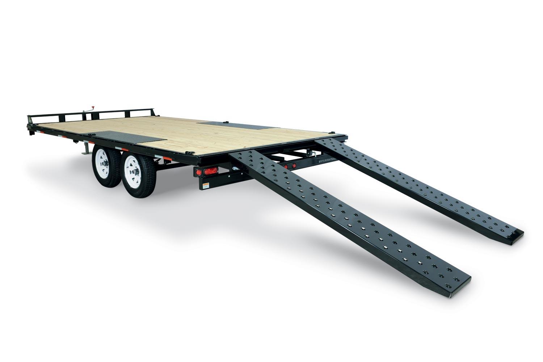 2019 Sure-Trac 8.5 X 16 Flat Deck Deckover, 10K
