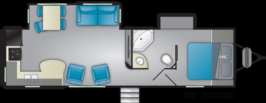 Chaparral Chaparral 324TSRK | RV and Camper Sales and Parts | Camper
