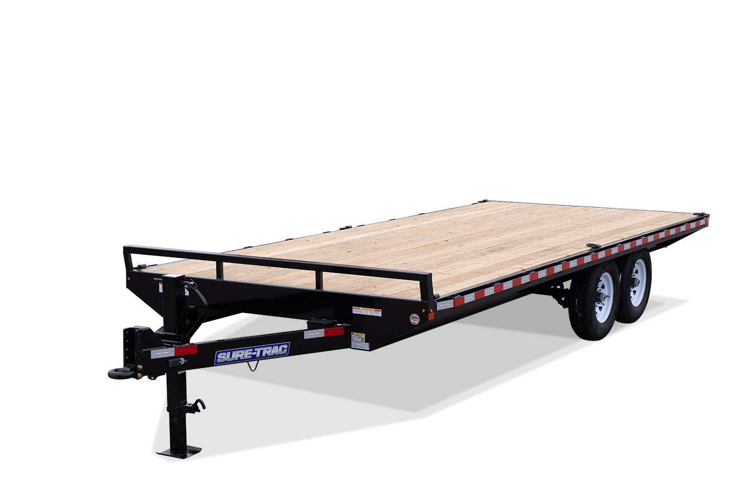 2020 Sure-Trac 8.5 X 20 Ft Standard Duty Flatbed Deckov