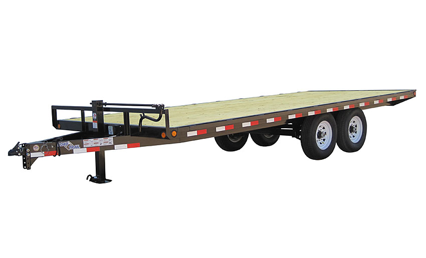 """2017 Load Trail 102"""" X 14' Deck Over Pintle Hook"""