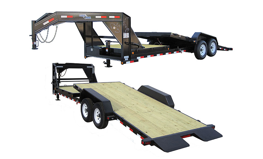 "Load Trail GT14 - Gooseneck Tilt Deck Power Up & Down 81.5"" x 26"