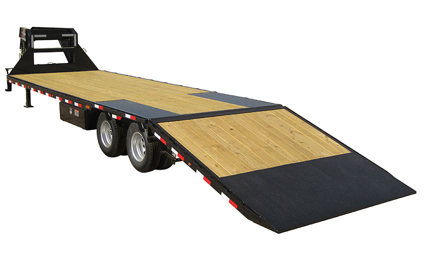 Load Trail GR30 - Heavy Duty 102 x 36 (3 x 12K axle)