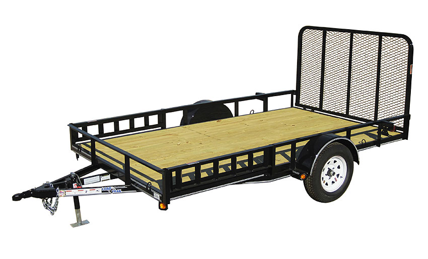 Load Trail SC03 - Single Axle Landscape 80 x 14