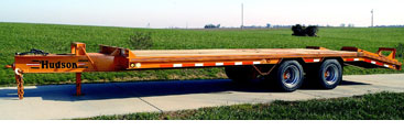 Hudson Trailers HTD18A - 20 Ton Capacity