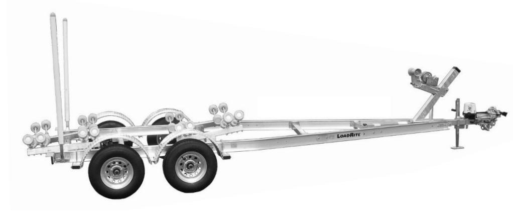 Load Rite AU-AR23T5200TB2 (Tandem Axle)