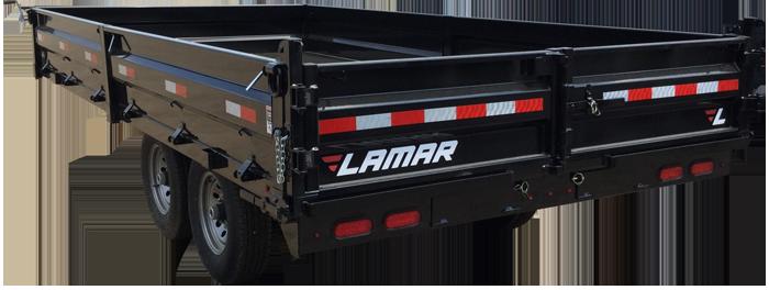 Lamar Trailers Fotografija za Deckover Dump