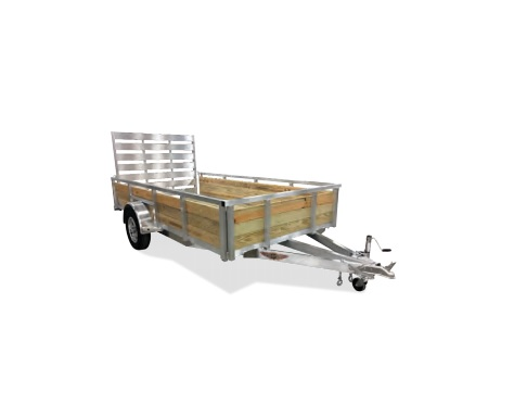 2019 H and H Trailer 5.5 X 10 WOOD-SIDE ALUM 3K
