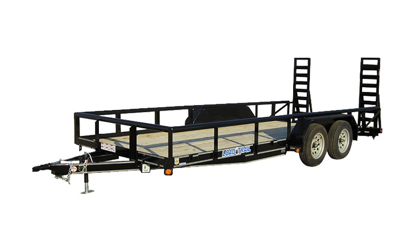 "2016 Load Trail 83"" X 16' Tandem Carhauler w/5"" Channel Frame & Side Rails"