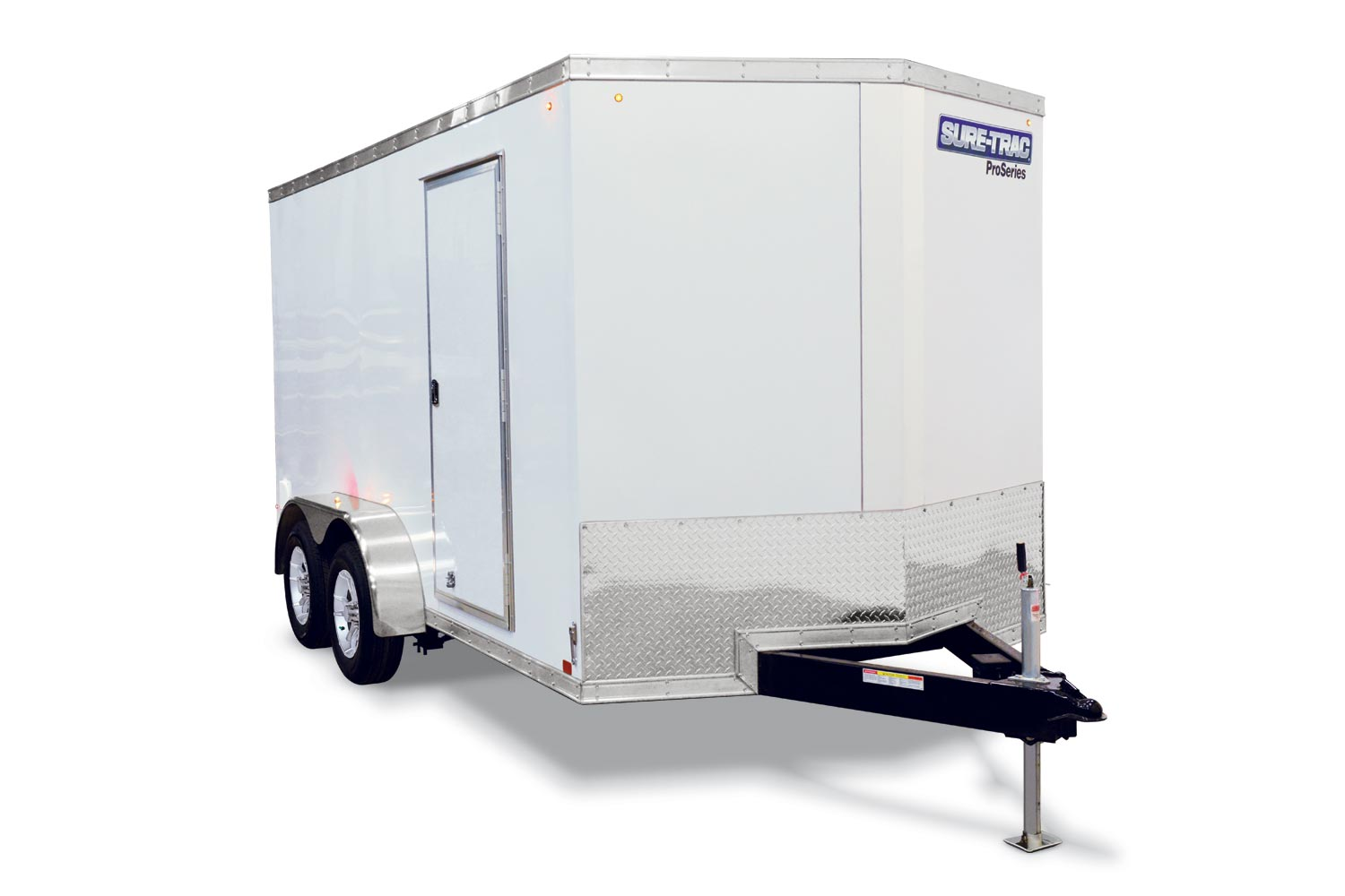 2020 Sure-Trac 7 x 24 Wedge Cargo Trailer TA 10K