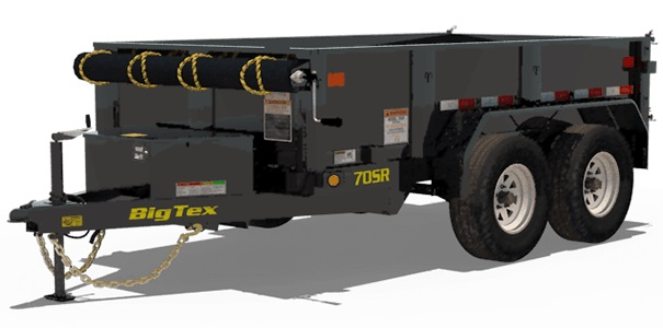 Big Tex Trailers 70SR-10