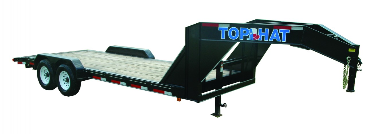 "Top Hat EQUIPMENT HAULER GOOSENECK 12.5K - 24'X83"" EHGN 12.5K"