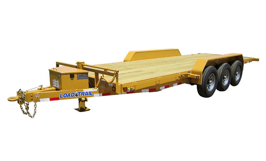 "Load Trail TT21 - Tilt Deck Power Up & Down 81.5"" x 22"