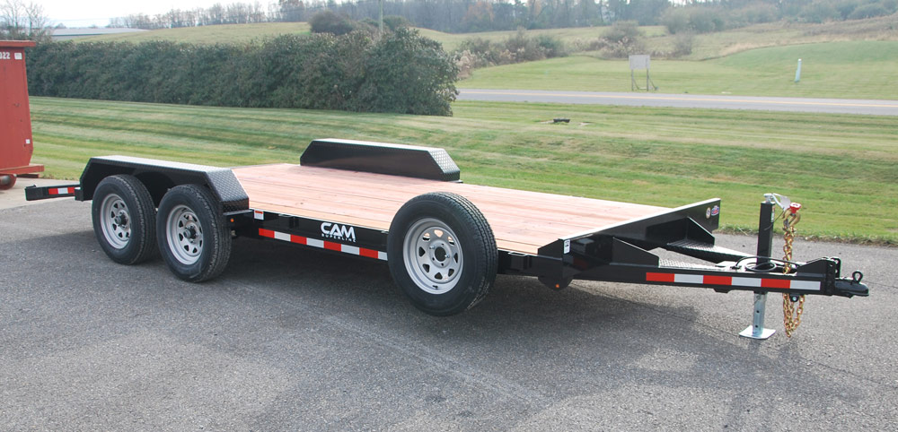 2020 Cam Superline 3.5 Ton Car Hauler 18FT Steel Deck