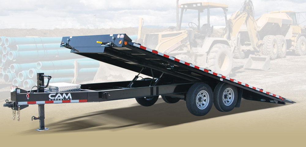 Cam Superline 6CAM820DOTT Deckover Full Tilt Trailer