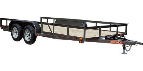 MAXXD U3X - Angle Tandem Axle Utility Trailer