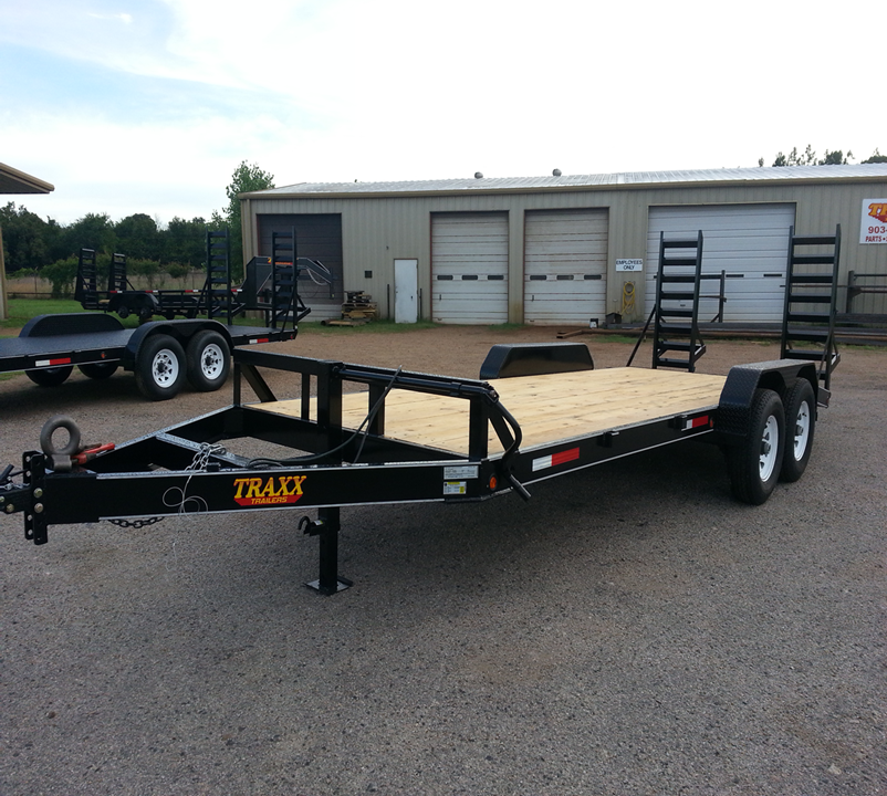Traxx Trailers 20' Equipment Hauler