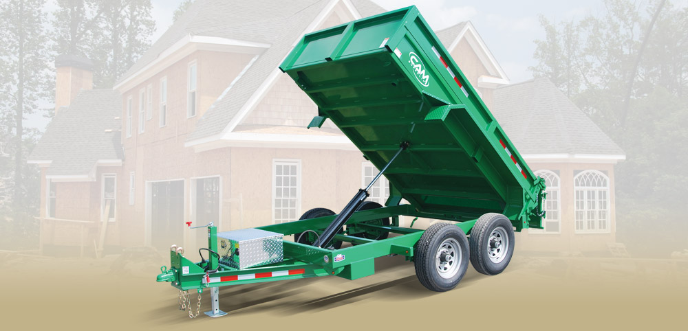 2020 Cam Superline 5 Ton Low Profile Dump Trailer 6x10