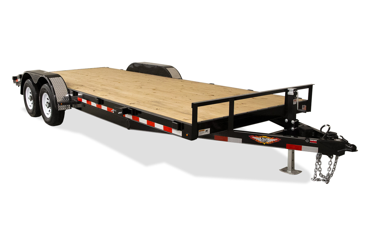 2020 H and H Trailer 82X18+2 HD FLATBED DOVE 10K