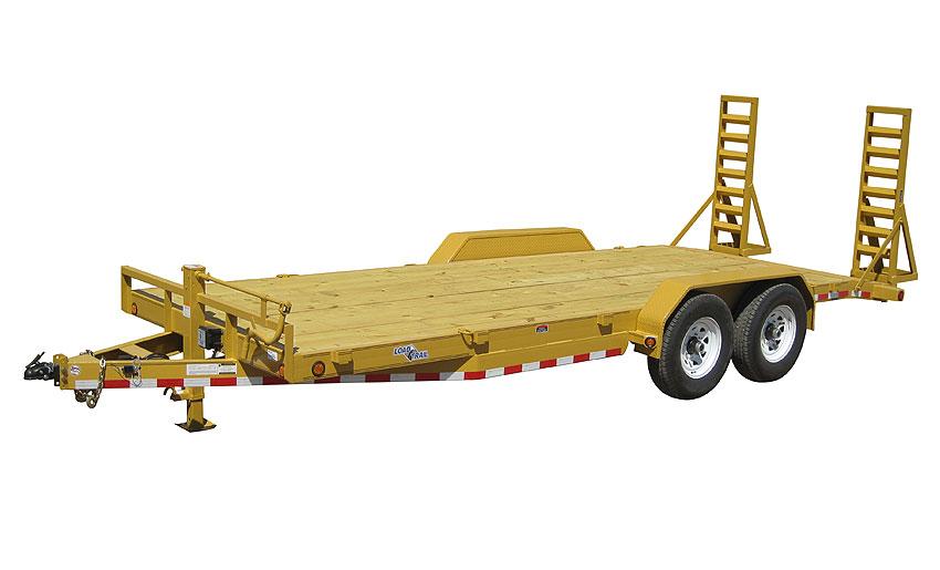 """2016 Load Trail 80"""" X 18' Tandem Axle Carhauler 2-7000 lb"""