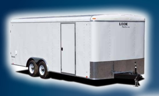 2018 Look Trailers Element Auto Flat Top Car / Racing Trailer