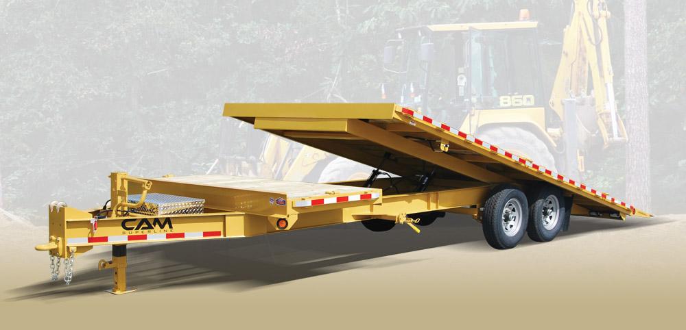 2020 Cam Superline 8 Ton Deckover Split Tilt 8.5 x 20+4