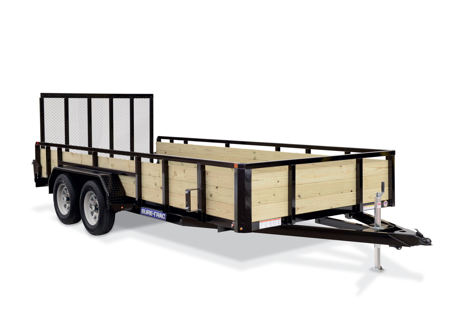 2020 Sure-Trac 7 X 14 10K  48in Plywood Side Trailer  K