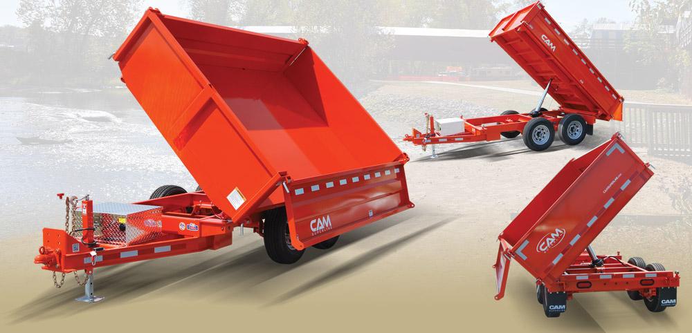 Cam Superline 5CAM610TWD 3-Way Deckover Dump