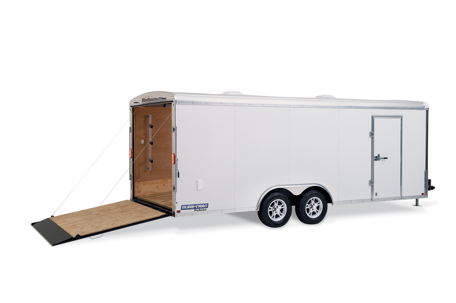 2019 H and H Trailer 8X18 TANDEM RND TOP HH RNDNOSE 10K CARGO