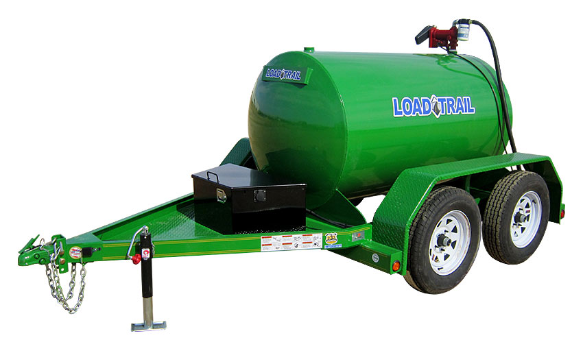 "2013 Load Trail 60"" X 10' Tandem Axle Fuel Tank"